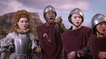 觀賞伽利略與伊莉莎白女王。第 1 季第 12 集。