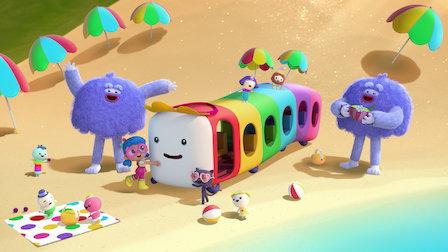 Watch The Wheels on Rainbow Bus. Episode 8 of Season 1.